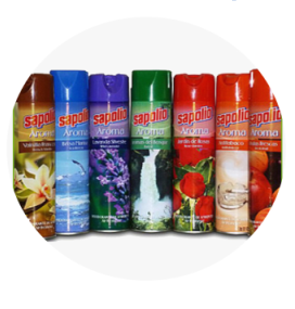 AMBIENTADOR EN SPRAY 360ML SAPOLIO