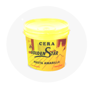 CERA EN PASTA BALDE GOLDEN STAR